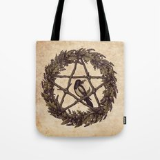 Botanical Pentacle: Wild Witch Tote Bag