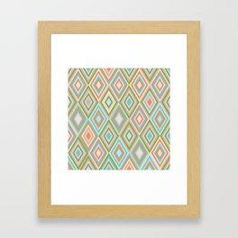 rhombus 2 Framed Art Print