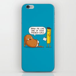 French Potato iPhone Skin
