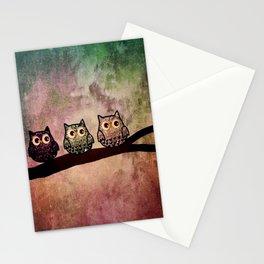 owl 187 Stationery Cards