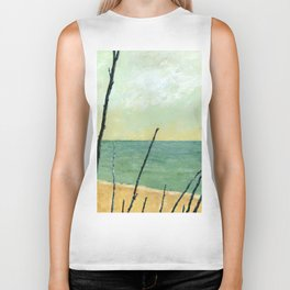 Branches on the Beach Biker Tank