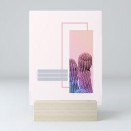 Pastel Cactus #society6 #spring Mini Art Print