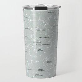 Northern Hemisphere Constellations Map Travel Mug