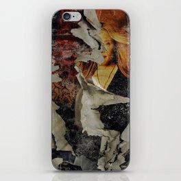 Peeling: Blonde Woman iPhone Skin