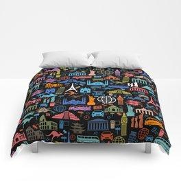 LET'S TRAVEL AROUND THE WORLD!!! Comforters