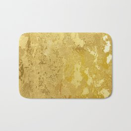 golden vintage Bath Mat