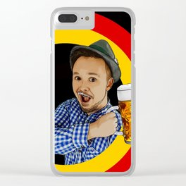 Get Germanized Looney Clear iPhone Case