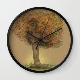 Another Autumn Wall Clock