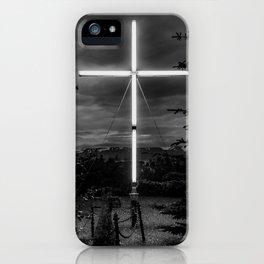 Husavik cross iPhone Case