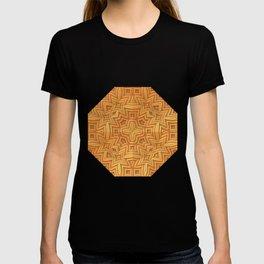 Fall Basket Pattern T-shirt
