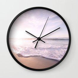 Sea Pastel Beach Tropical Wall Clock