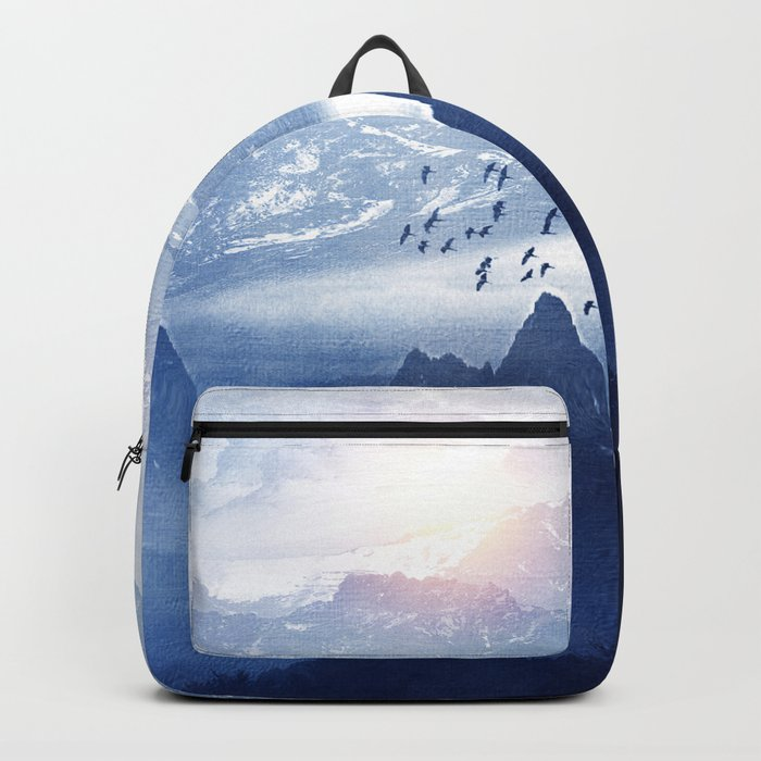 Winter. Melody... Backpack