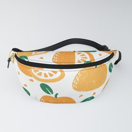 Fruit   Orange Fanny Pack