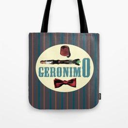 """Doctor Who: 11th Doctor - """"Geronimo"""" Tote Bag"""