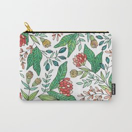 Wildflower Pattern - Full Color Carry-All Pouch