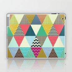 New York Beauty triangles Laptop & iPad Skin