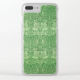 "William Morris ""Brer rabbit"" 3. Clear iPhone Case"