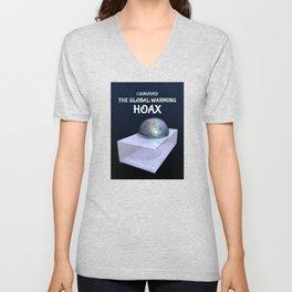I Survived The Global Warming Hoax Unisex V-Neck