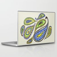 paisley Laptop & iPad Skins featuring Paisley by Laura Maxwell
