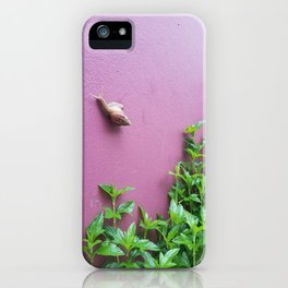 Keeping Pace iPhone Case