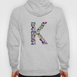 letter k - gaming blocks Hoody