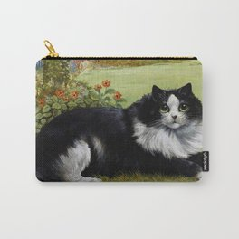 Black & White Kitty - Louis Wain Cats Carry-All Pouch