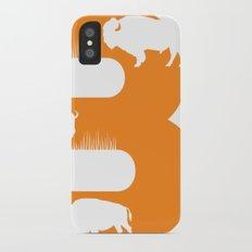 B is for Bison - Animal Alphabet Series Slim Case iPhone X