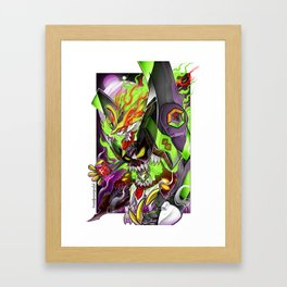 Barbatos 01 Berserk Lagann Framed Art Print