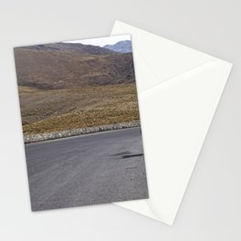 Lonely traveler goat in the road, Tucuman - Travel and Nature Photography Stationery Cards