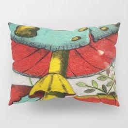 Snail and mushrooms Pillow Sham