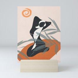 Abstract Female Figure 21 Mini Art Print