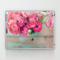 Pink Ranunculus  Laptop & iPad Skin
