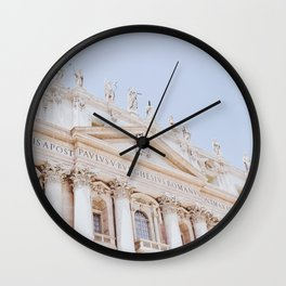 Vatican 01 Wall Clock