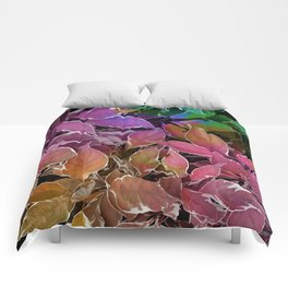 Behind Leaves #society6 #decor #buyart Comforters