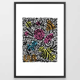 ABSTRACT 013 Framed Art Print