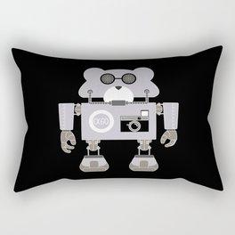 Robot Alpha 60 (Hommage à Jean-Luc Godard) Rectangular Pillow