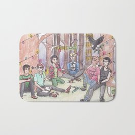Christmas in Cabeswater Bath Mat