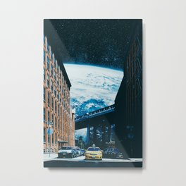 Taxi Ride To The Universe Metal Print
