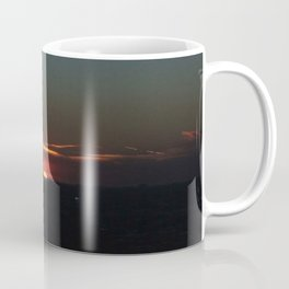 Great Ball of Fire: Chicago Sunset, Jan. 12, 2016 (Chicago Sunrise/Sunset Collection) Coffee Mug