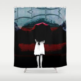 Heaven Is Perfect For Hell Shower Curtain