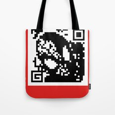 QR- Spiderman Tote Bag