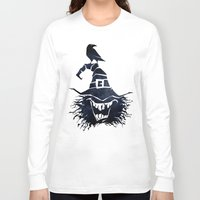 witch Long Sleeve T-shirts featuring witch by Erdogan Ulker