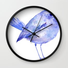 Blue Bird Wall Clock
