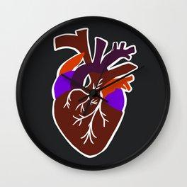 anatomic heart Wall Clock