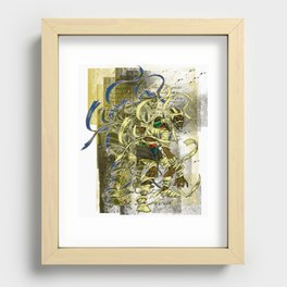 Mummy Stoned Recessed Framed Print