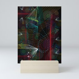 Rhythm Lines Mini Art Print