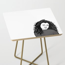 Darlene Conner Print Side Table