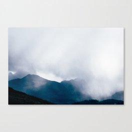 wandering the mist Canvas Print