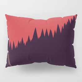 A Cabin in the Wood Pillow Sham