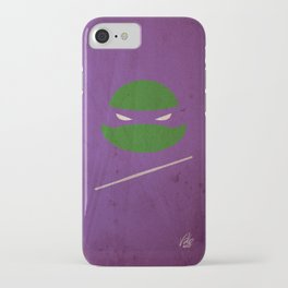 TMNT Donnie poster iPhone Case